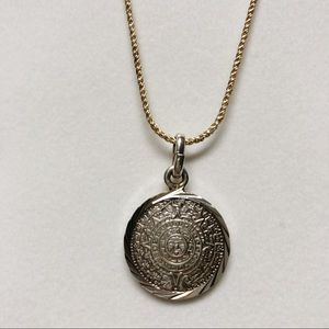 Jewelry - Mexican silver pendant.
